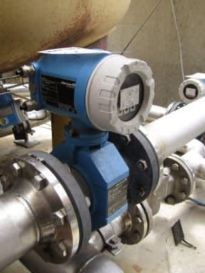 ENDRESS+HAUSER Magnetic-inductive flowmeter PROMAG 50