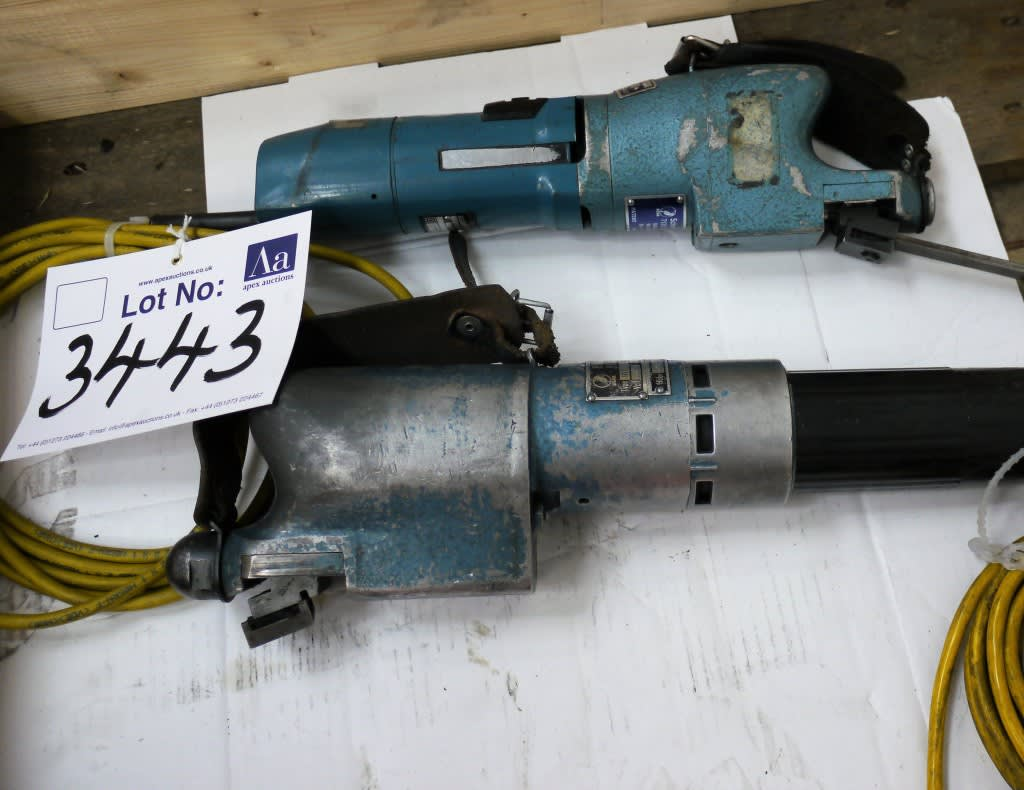 2 - BIAX 220v Electric Scrapers on Auction Now at Apex Auctions