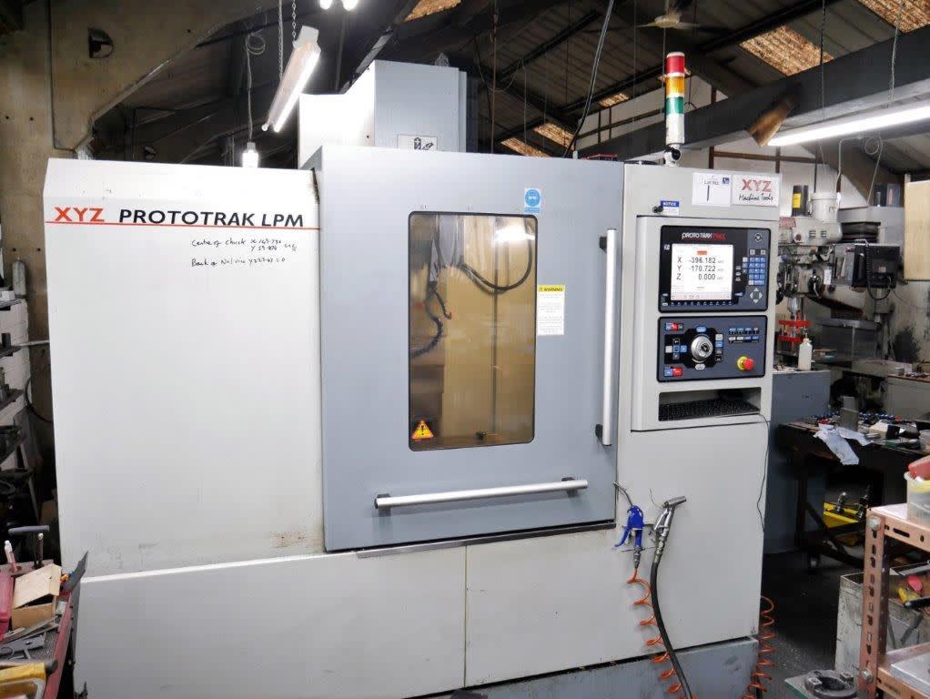 XYZ CNC Vertical Machining Centre Model LPM With PMX Control