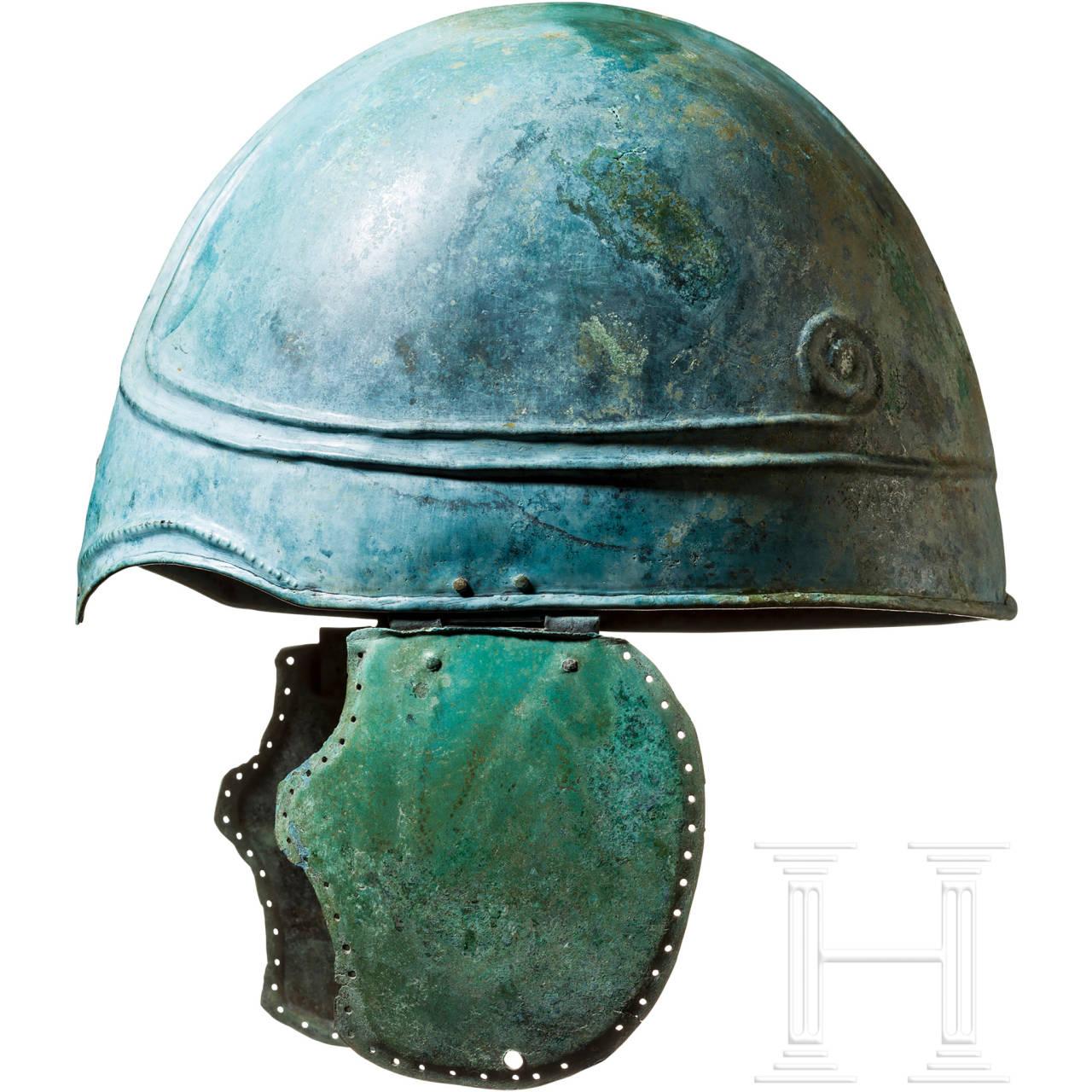 Pseudochalkidischer Helm, nördlicher Schwarzmeerraum, 4. Jhdt. v. Chr.