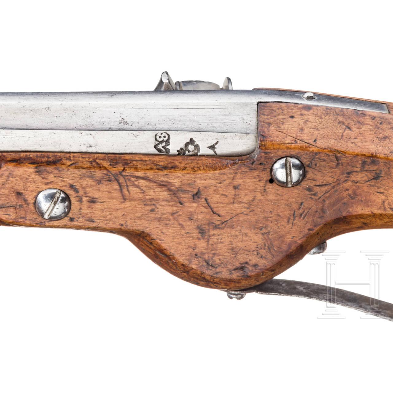 Militärische Radschlosspistole, Suhl, um 1630/40