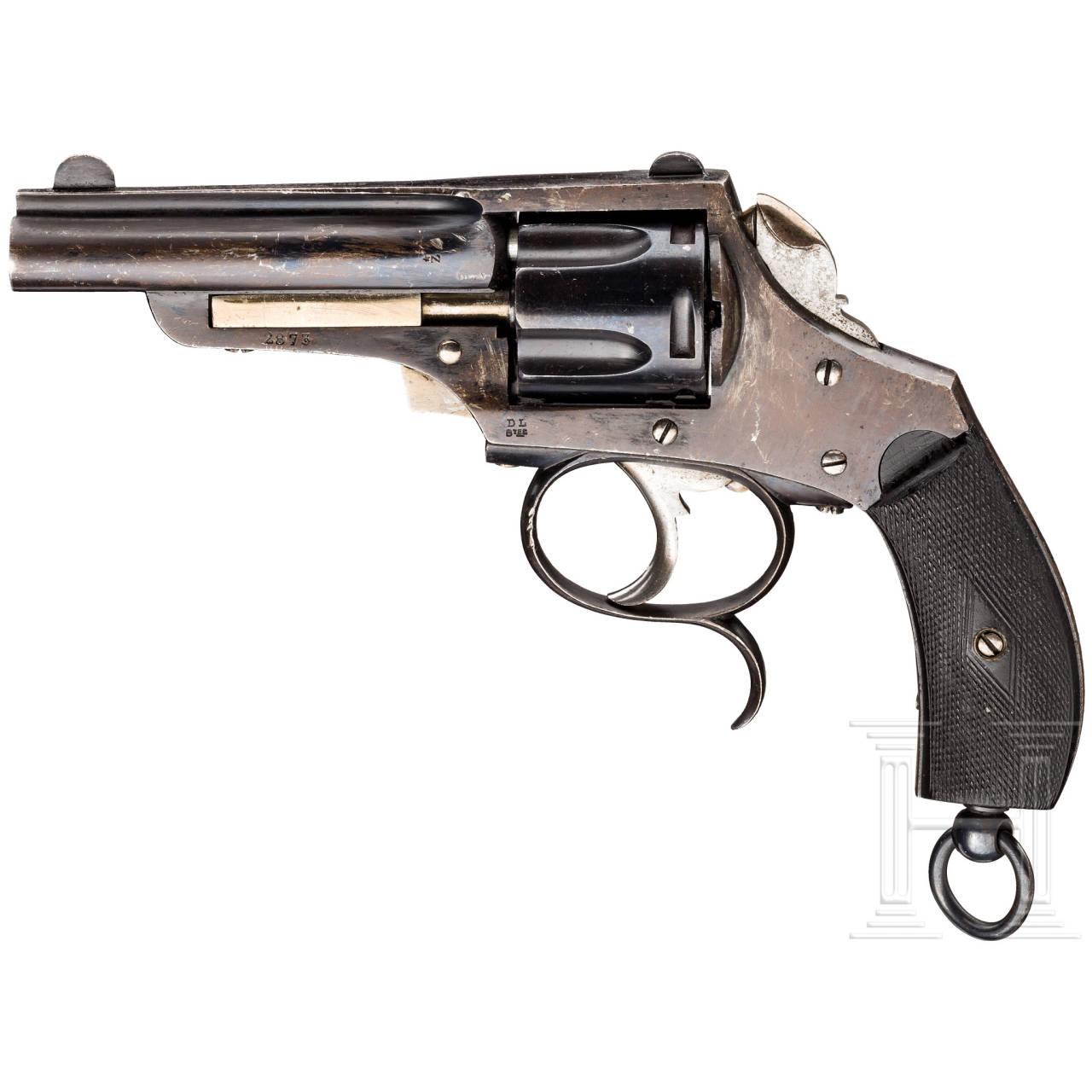 Revolver Hamal, Liège, um 1883