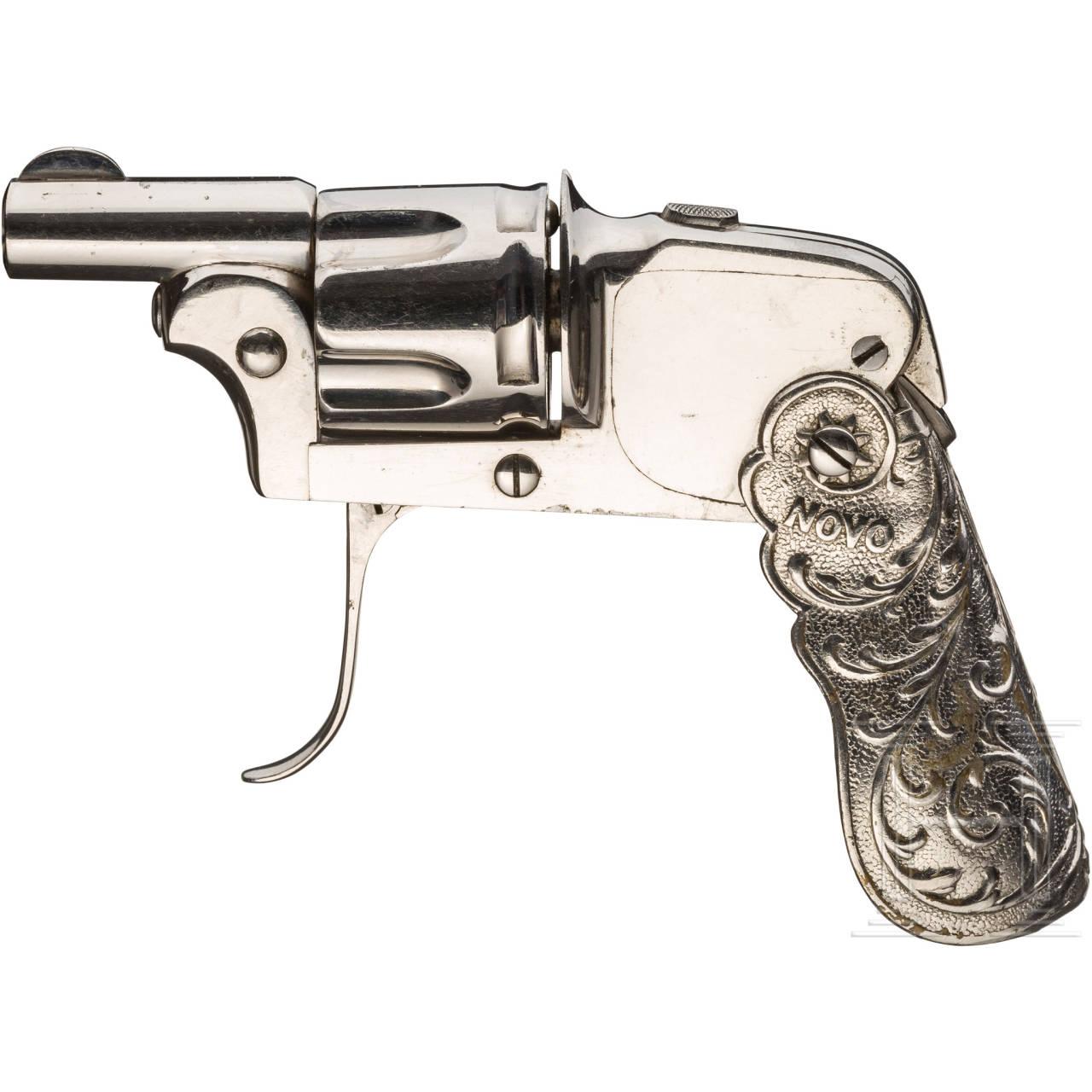 Novo-Revolver, vernickelt