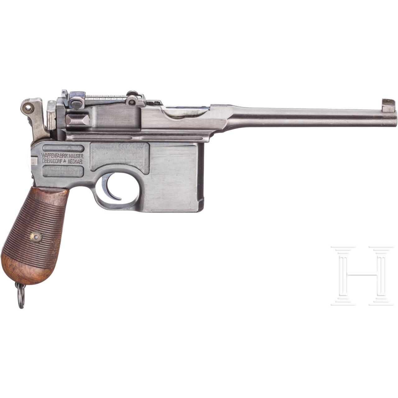 Mauser C 96, mit Kasten, Scandinavian Contract WW I