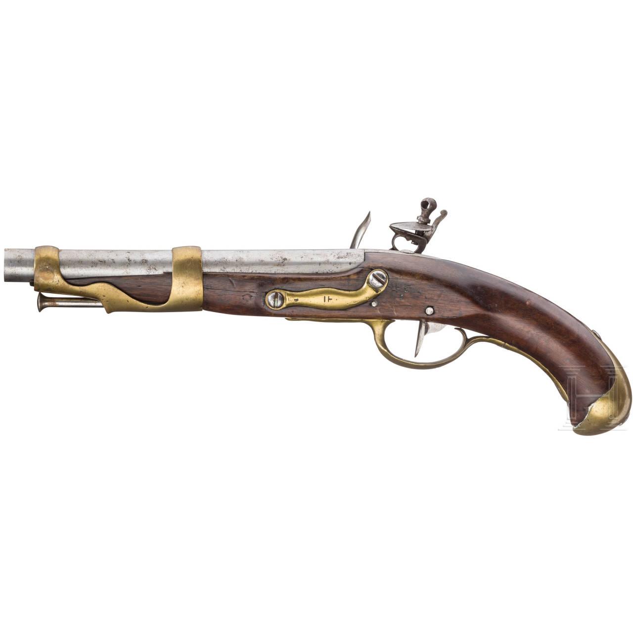 Kavalleriepistole M 1763/66, 2. Modell