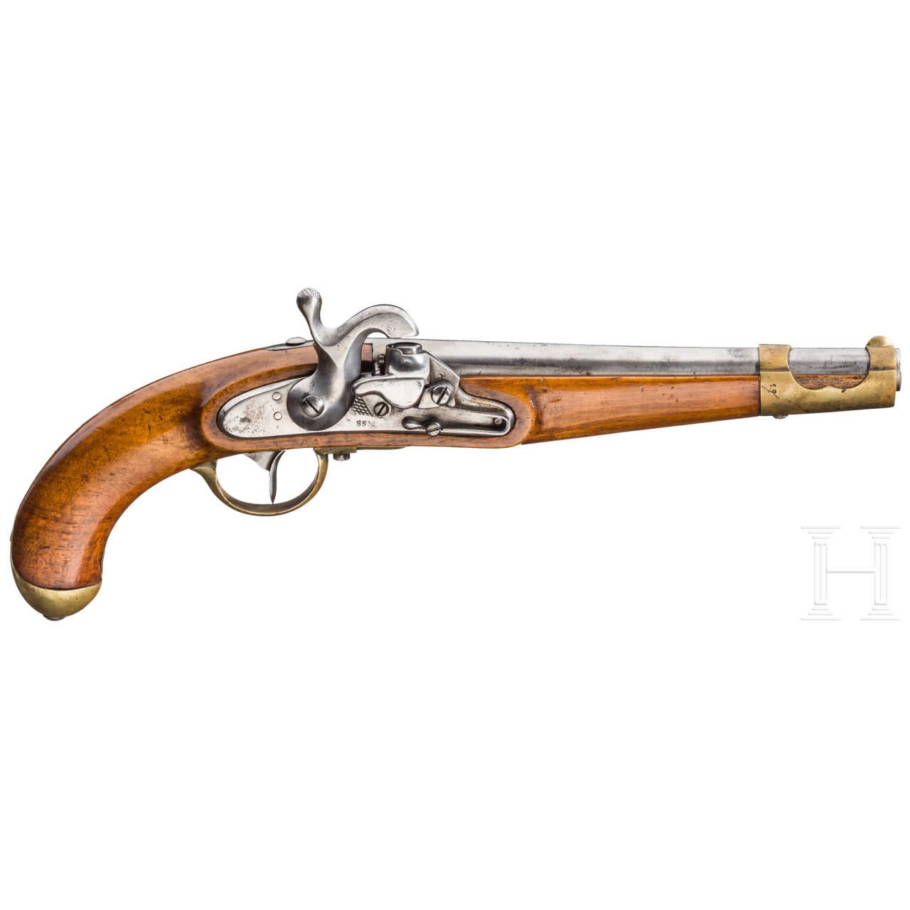 Kavalleriepistole M 1851, System Augustin