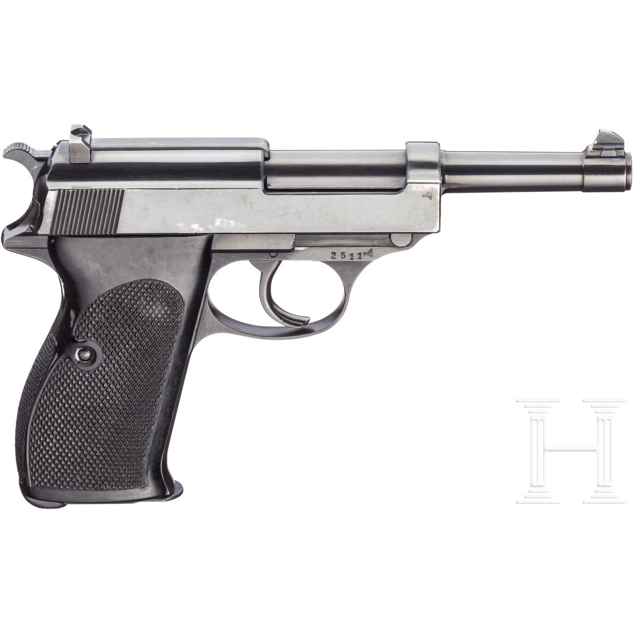 Walther Mod. HP, im Karton, 2. Ausführung Schweden