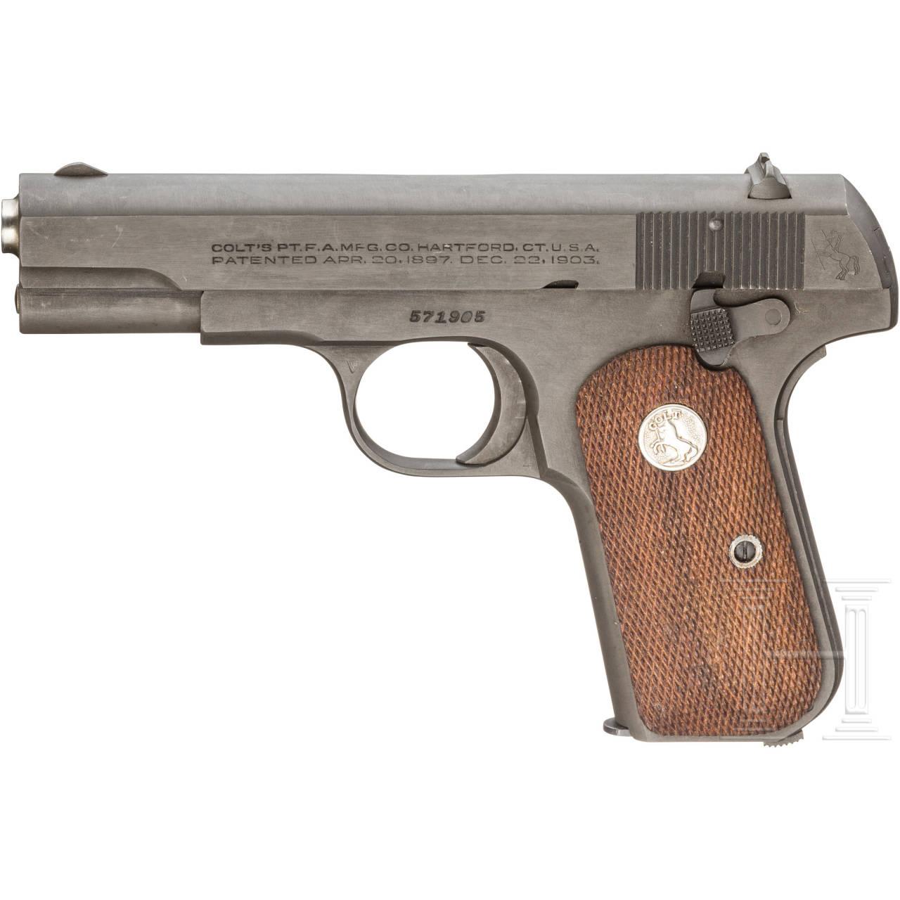 Colt Mod. 1903 Hammerless .32 Pocket, U.S. Government