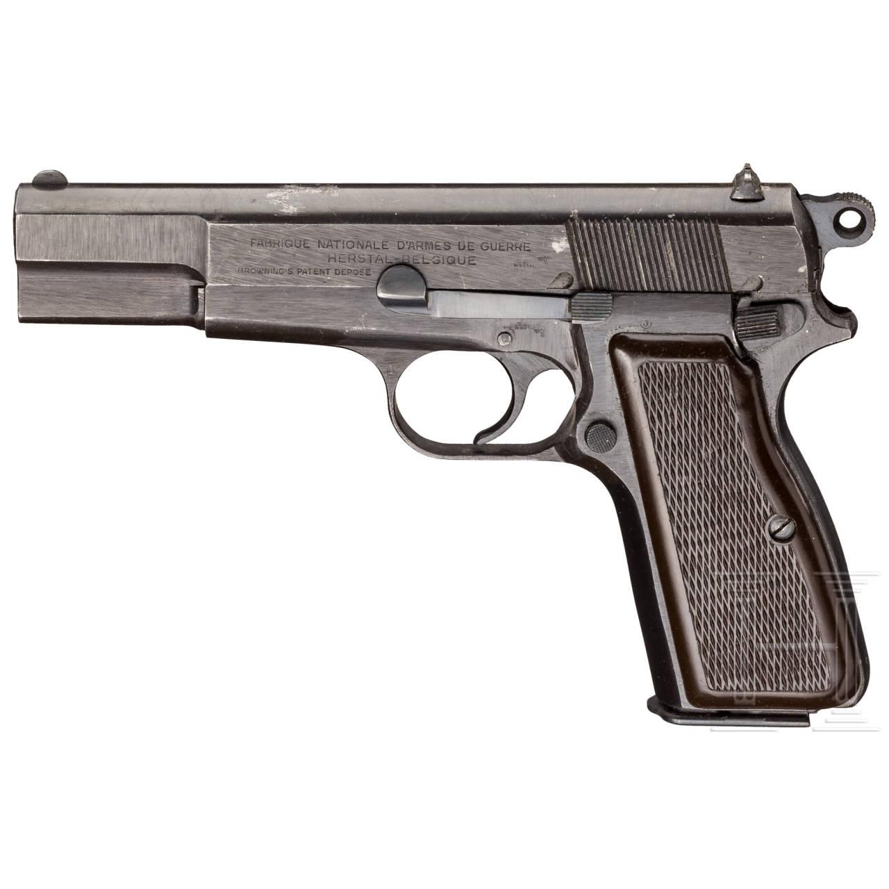 FN HP Mod. 35, ohne Magazinsicherung