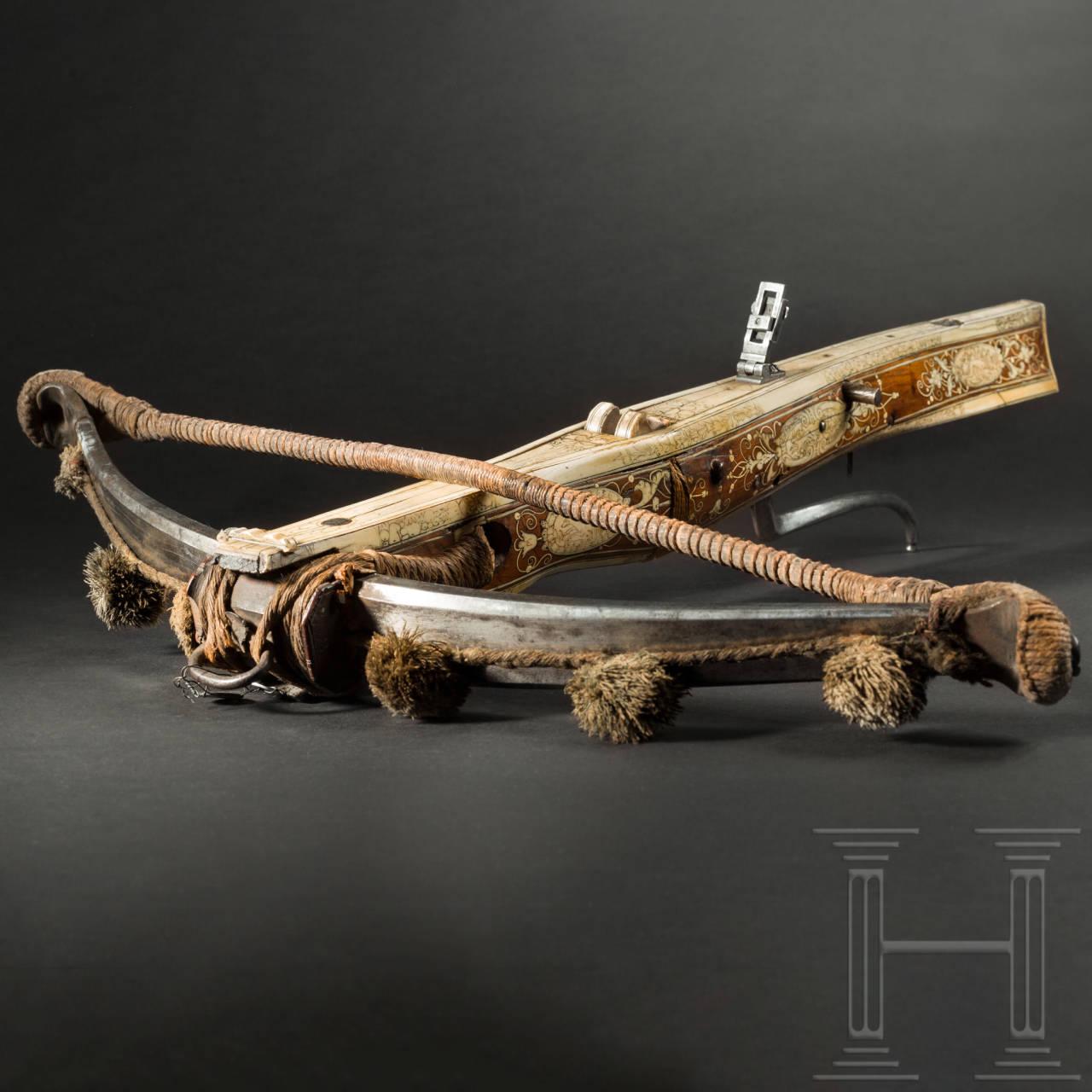 Hochwertige Renaissance-Armbrust, deutsch, um 1600