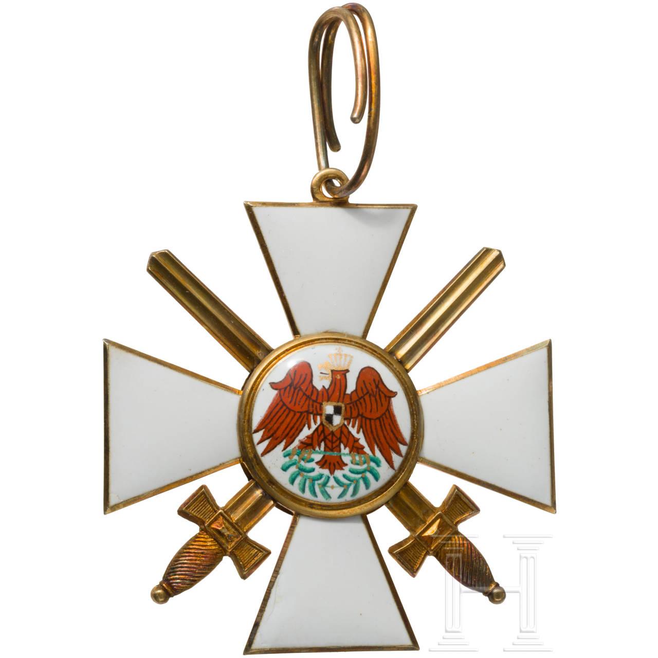 Preußischer Roter Adler-Orden - Kreuz zur 1. Klasse mit Schwertern
