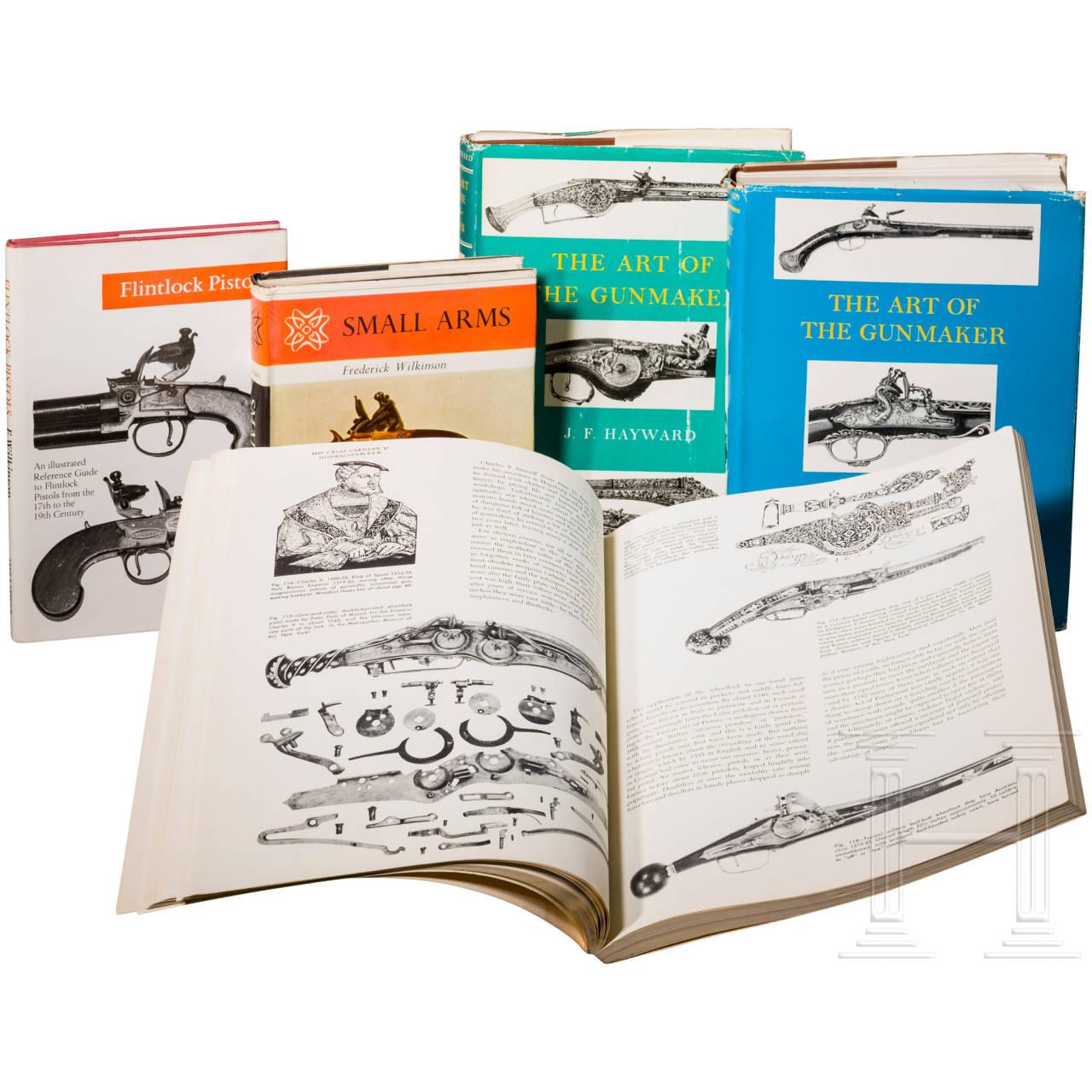 Vier Bücher über Feuerwaffen