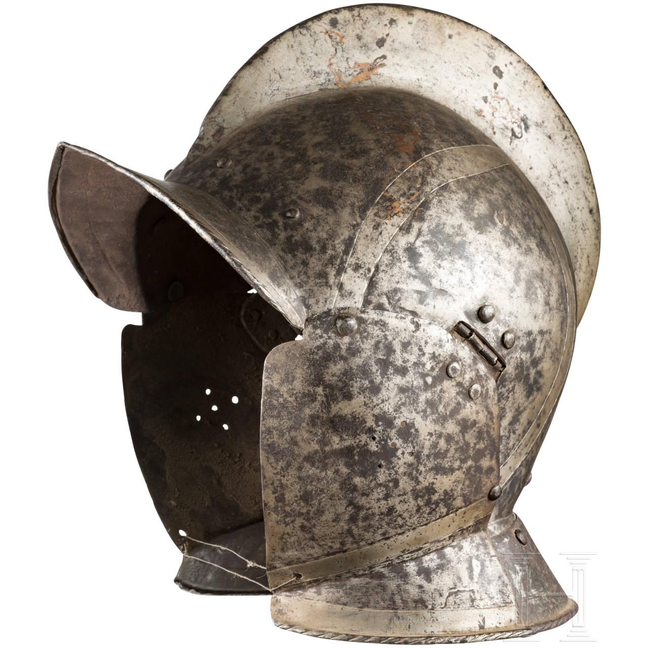 Sturmhaube, deutsch, um 1600