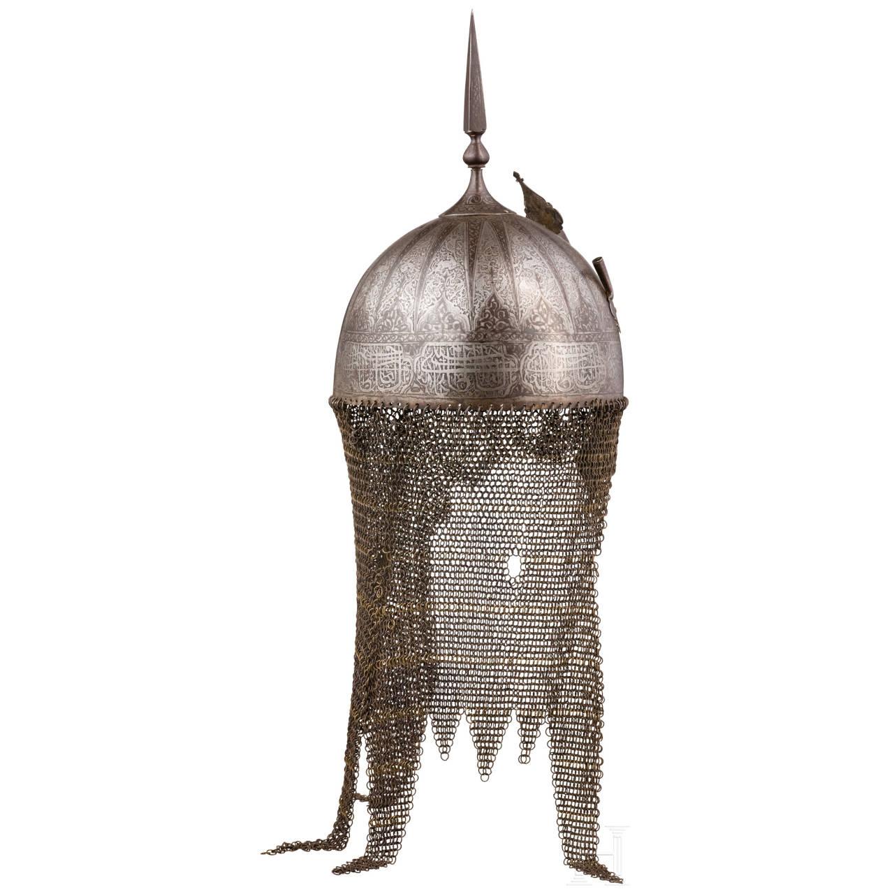 Rüstungsgarnitur, Persien, 19. Jhdt.