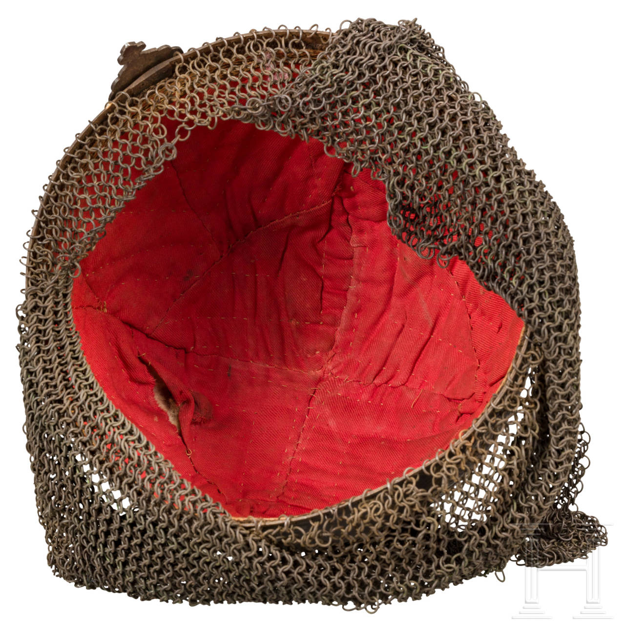 Geschnittener, goldtauschierter Helm (Kulah Khud), Persien, 19. Jhdt.