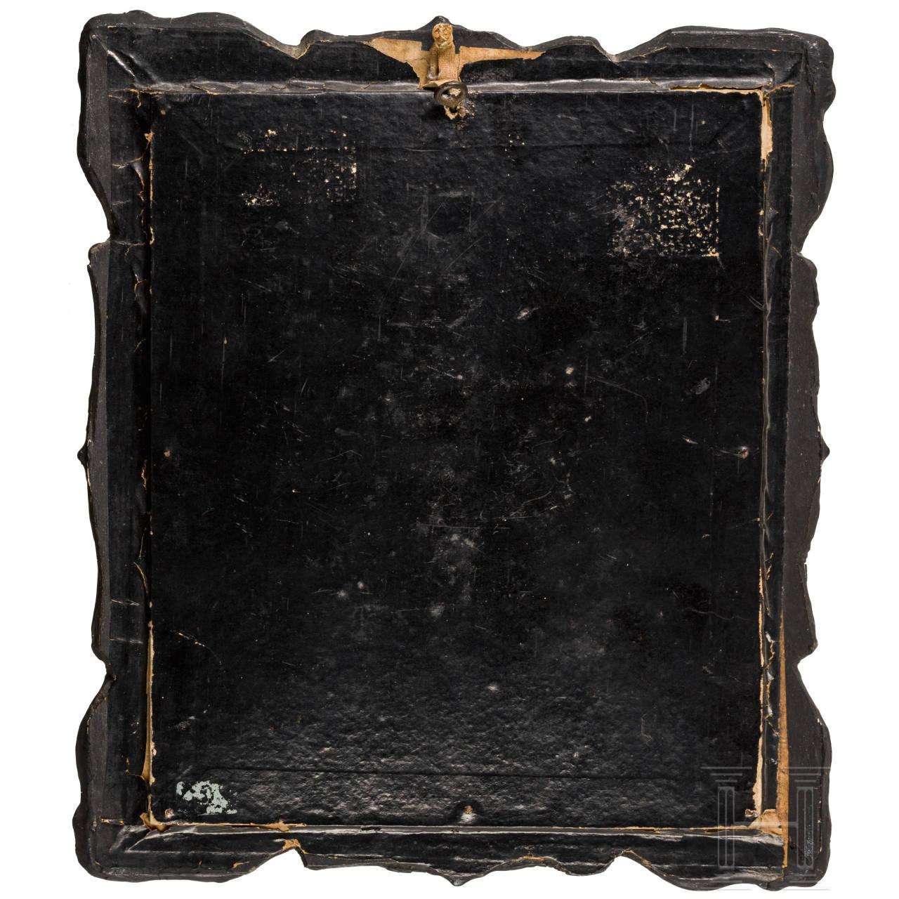 Blatt aus einem Stundenbuch im Stil des Spätmittelalters
