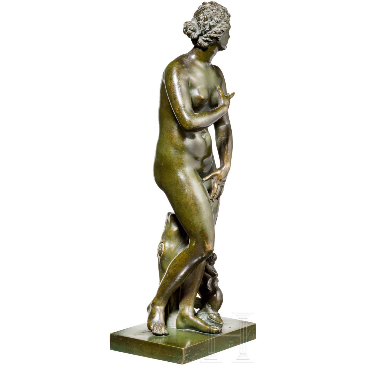 Sehr feine Skulptur der Venus Medici nach dem Vorbild der Antike, Rom, ca. 1780/90