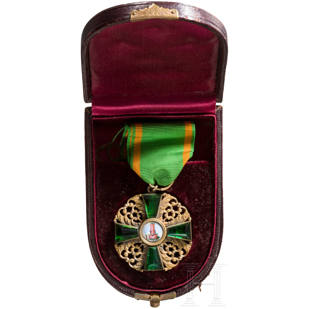 Order of the Zähringer Lion - Knight's Cross 1st class in case