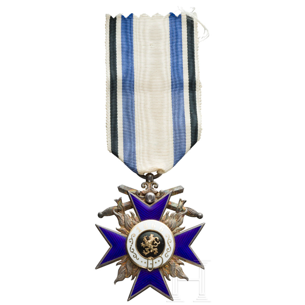 Military Order of Merit - Cross 4th class with swords, made by Weiss