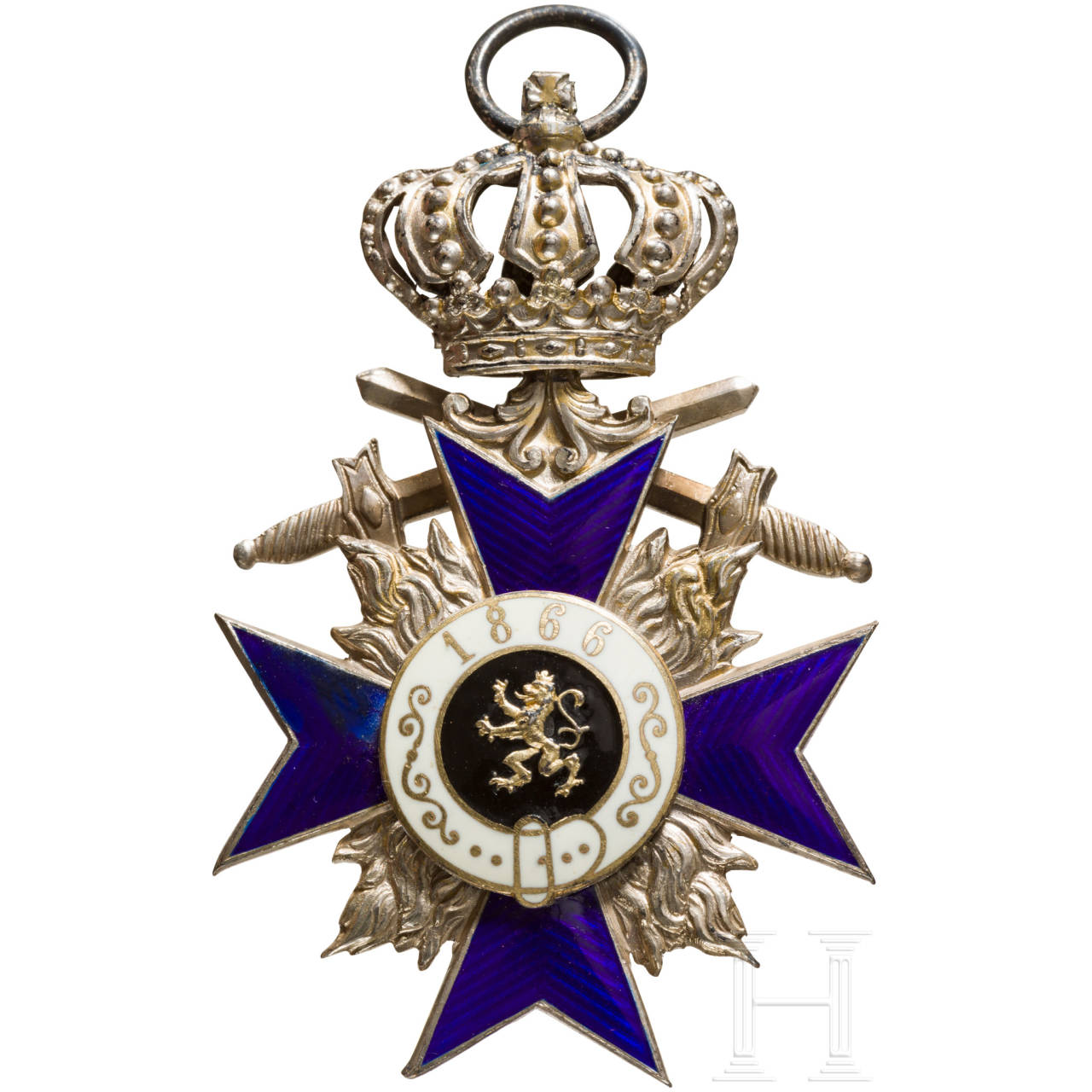 Military Merit order 4th class with crown and swords