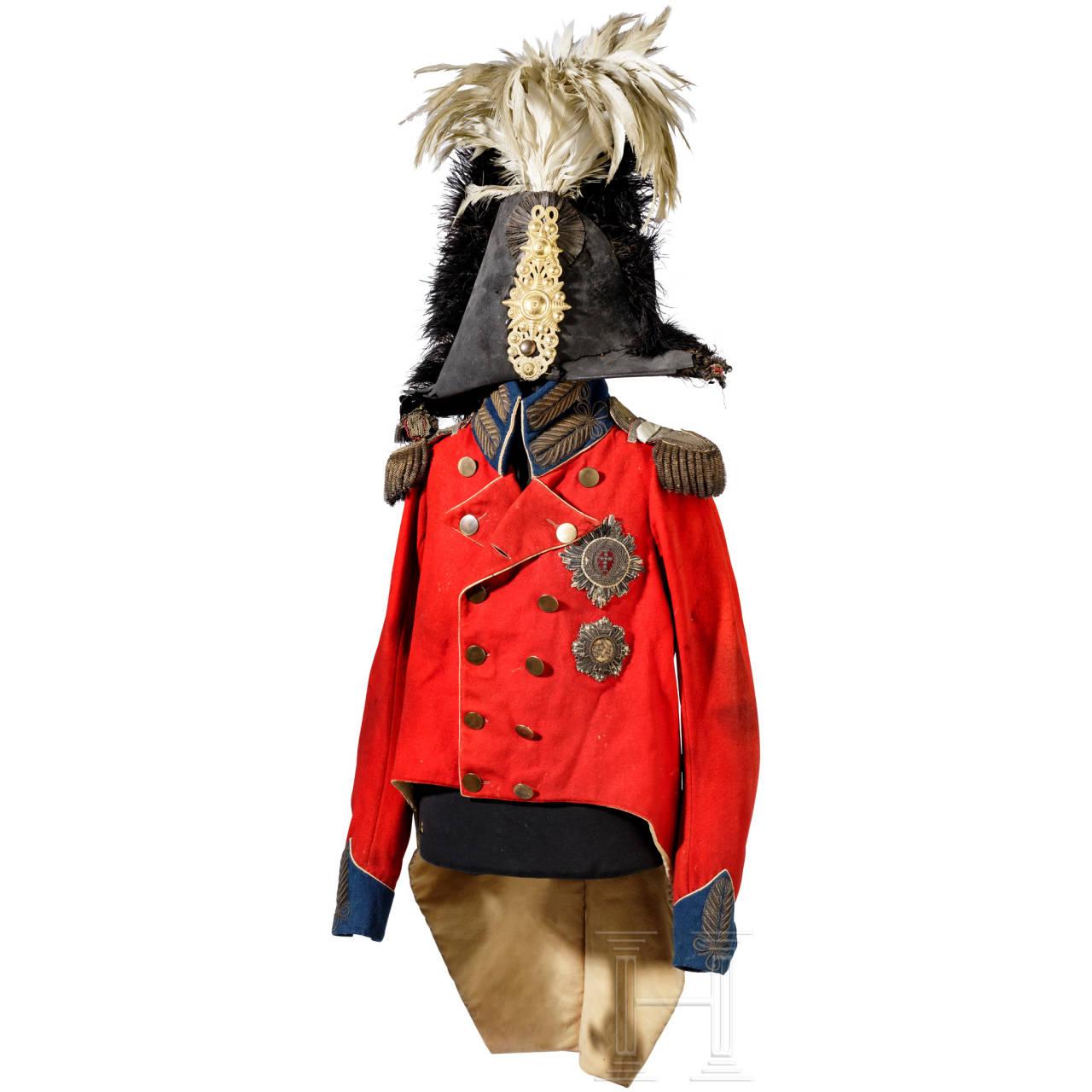König Frederik VI. von Dänemark, Herzog von Lauenburg (1768 - 1839) - Uniform als General, um 1814/20