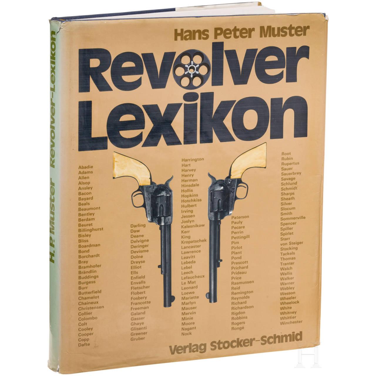 "A book by Hans Peter Muster, ""Revolver-Lexikon"""