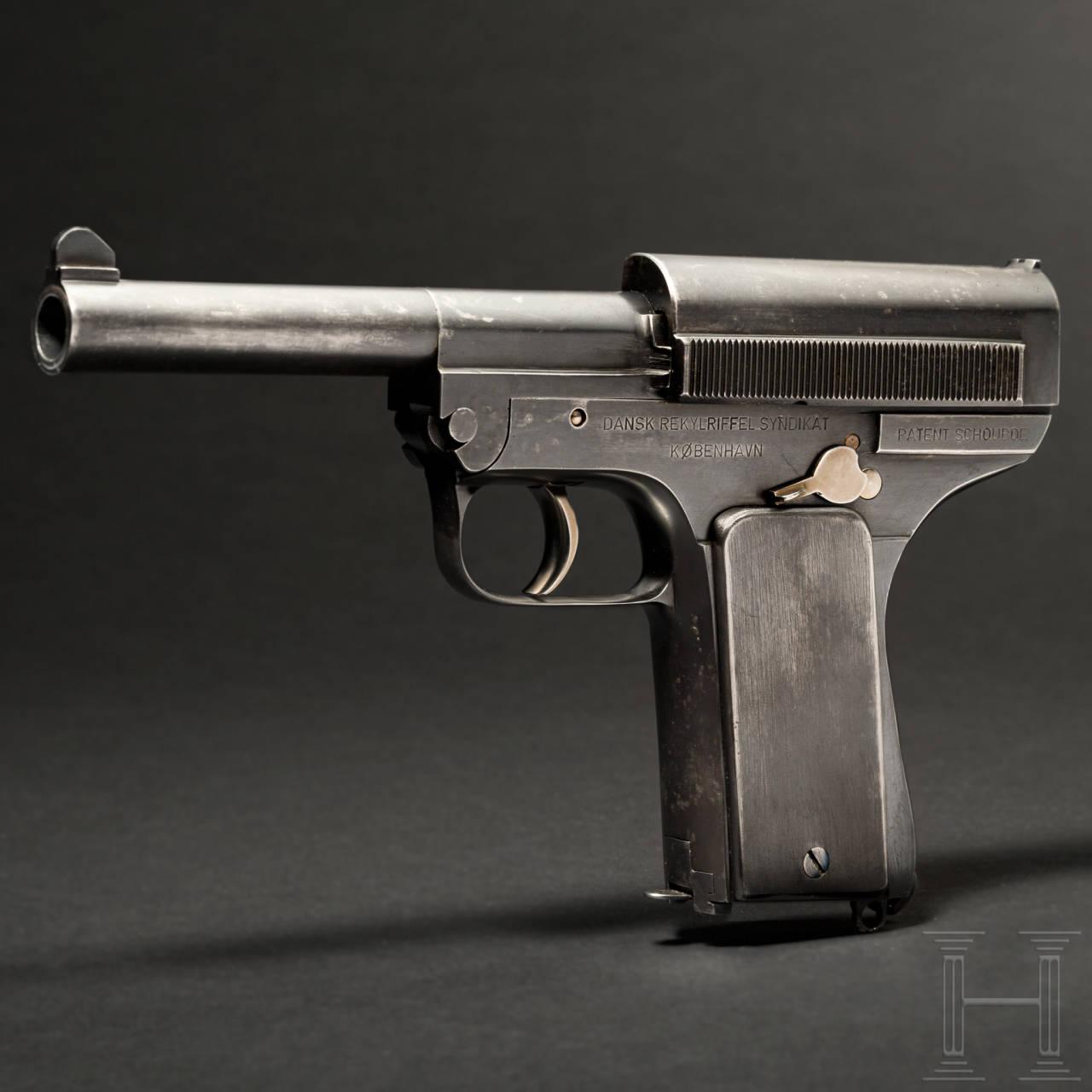 Schouboe Mod. 1907, 2. Ausführung