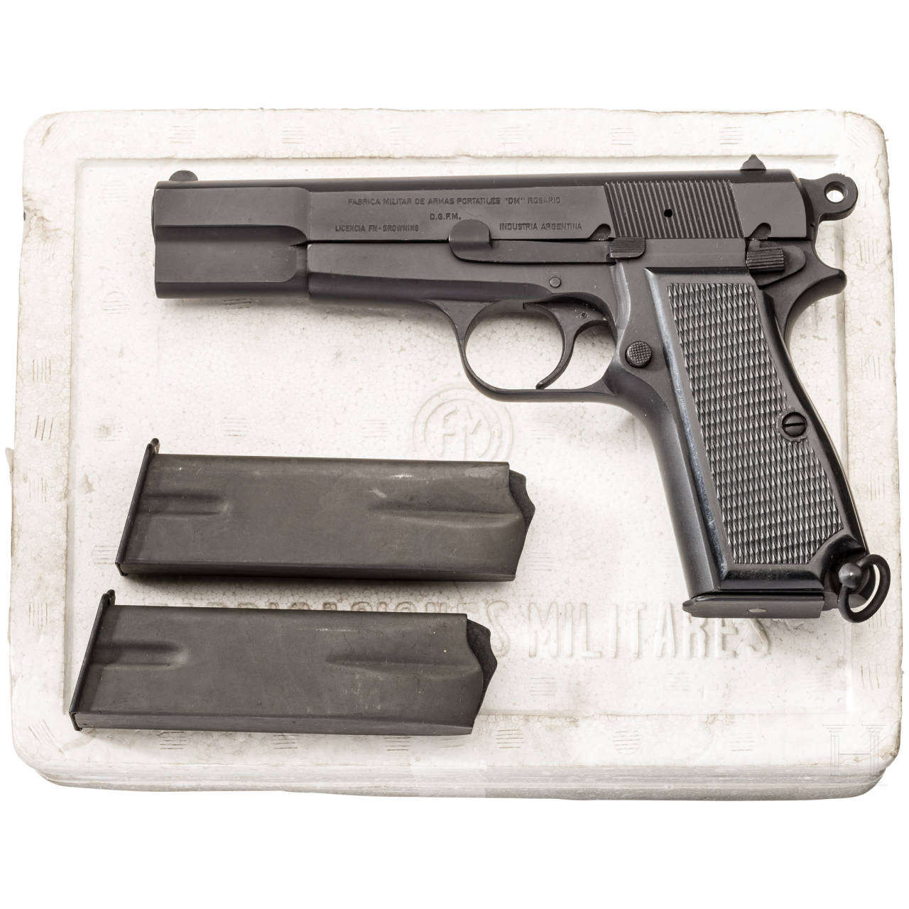 FN-Browning, D.G.F.M., in Box
