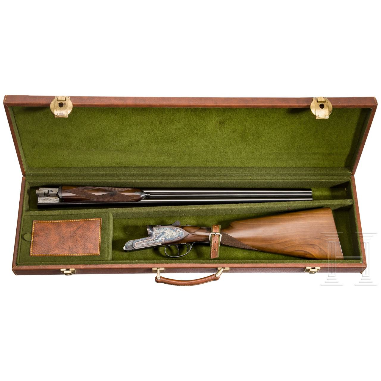 A side-by-side shotgun by Sarasqueta, Eibar