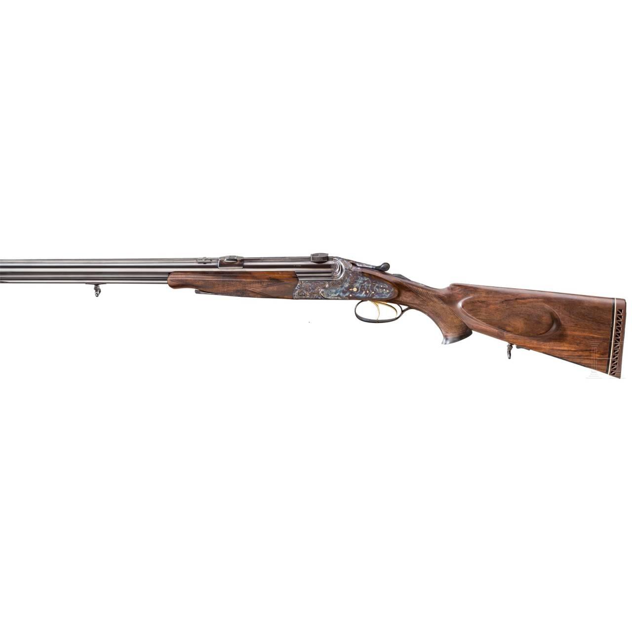 A Barth over-and-under combination gun, Vienna