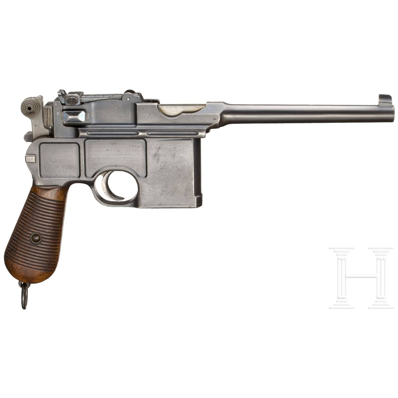 A Mauser C 96 Conehammer, with detachable stock