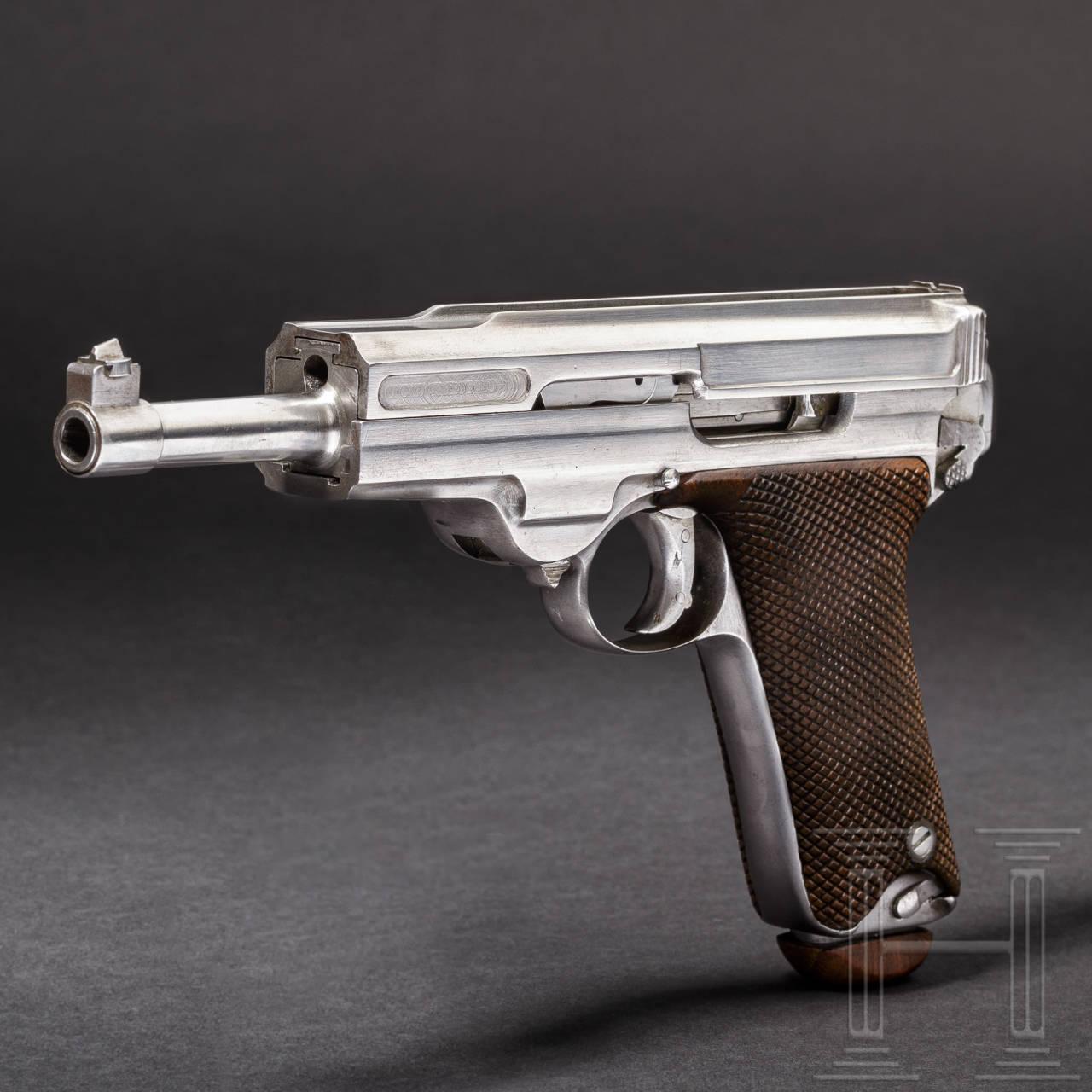 A System Müller pistol, Winterthur, prototype/trial, 1902