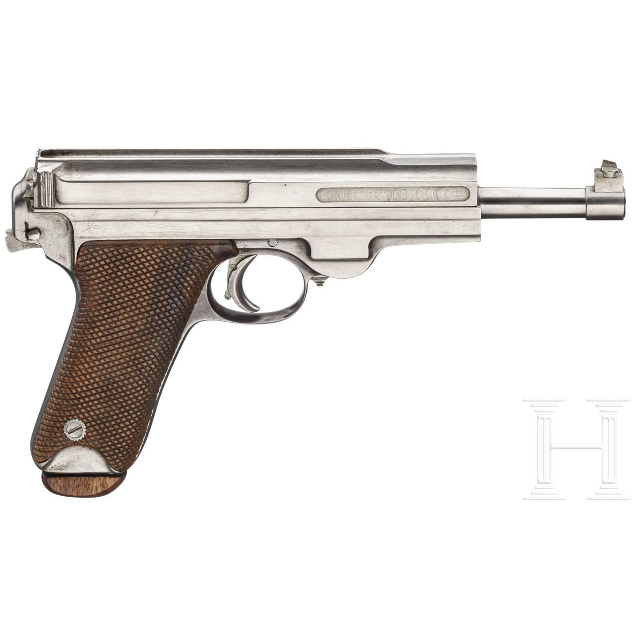 Pistole System Müller, Winterthur, Prototyp/Versuch, 1902