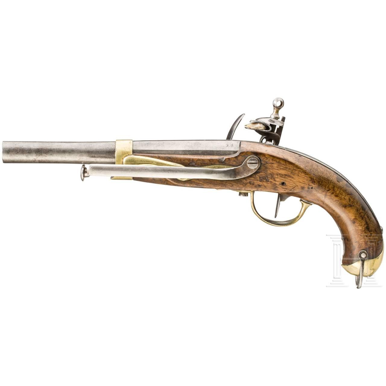 A cavalry pistol, Eibar (Spain), dated 1831