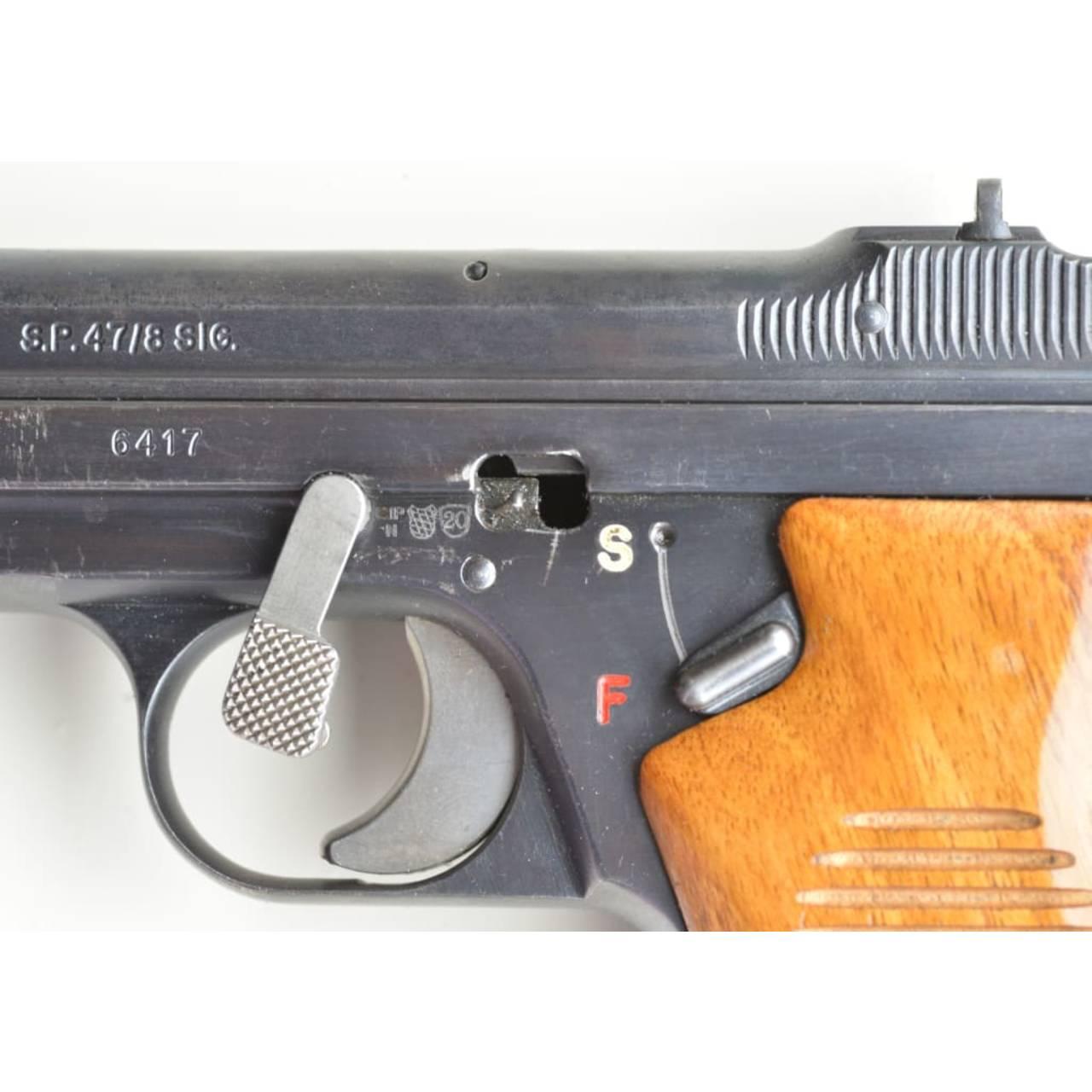 SIG SP 47/8, Schwedenmodell