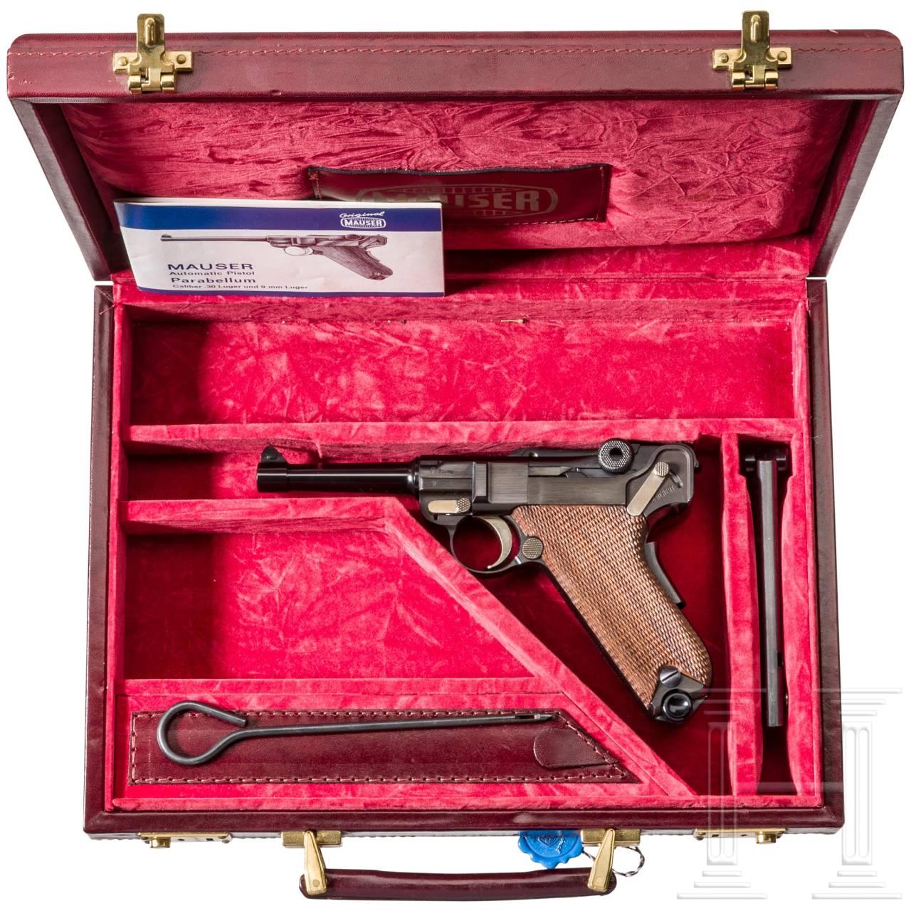 Parabellum Mauser Mod. 29/70, American Eagle, im Koffer