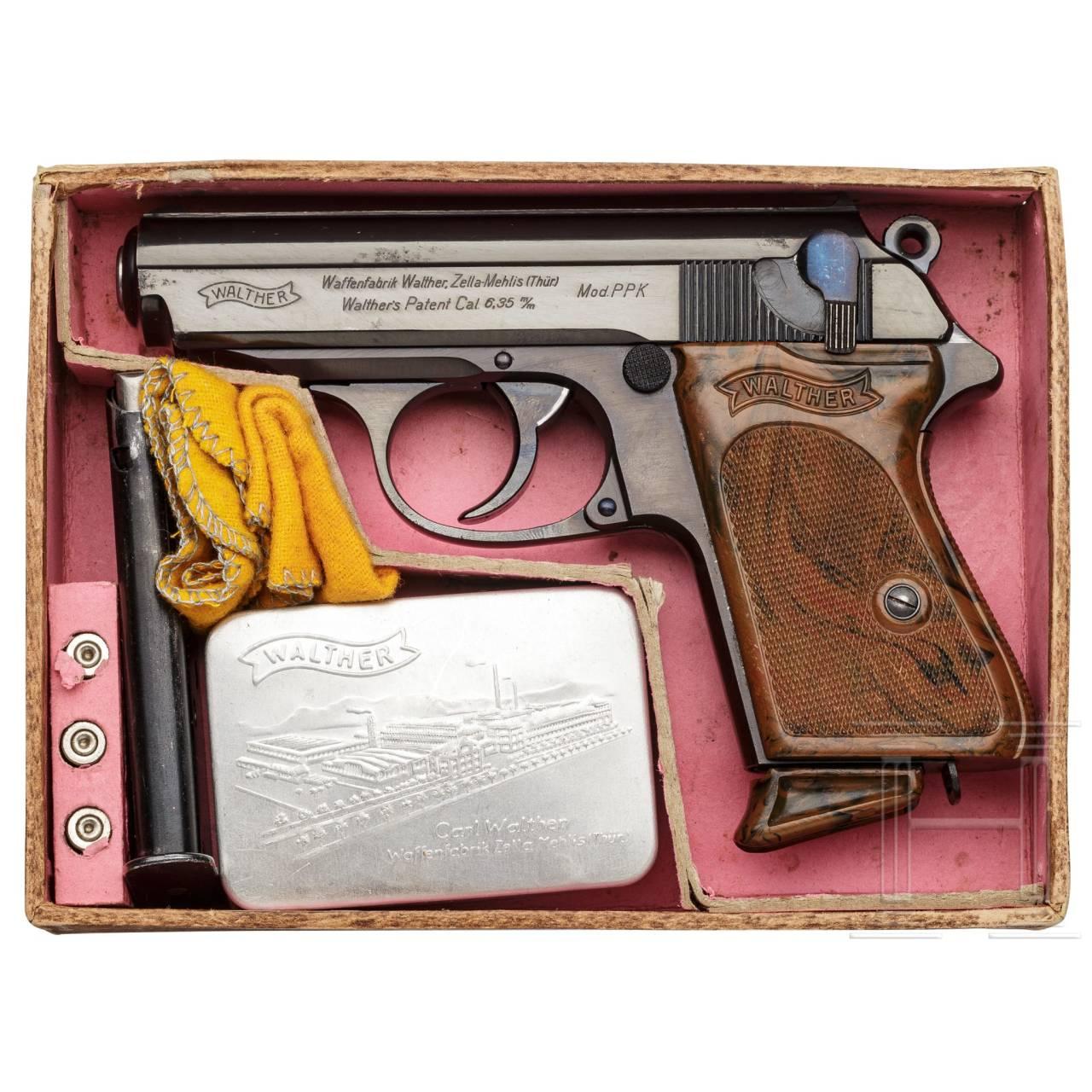 A Walther PPK, ZM, in original cardboard box