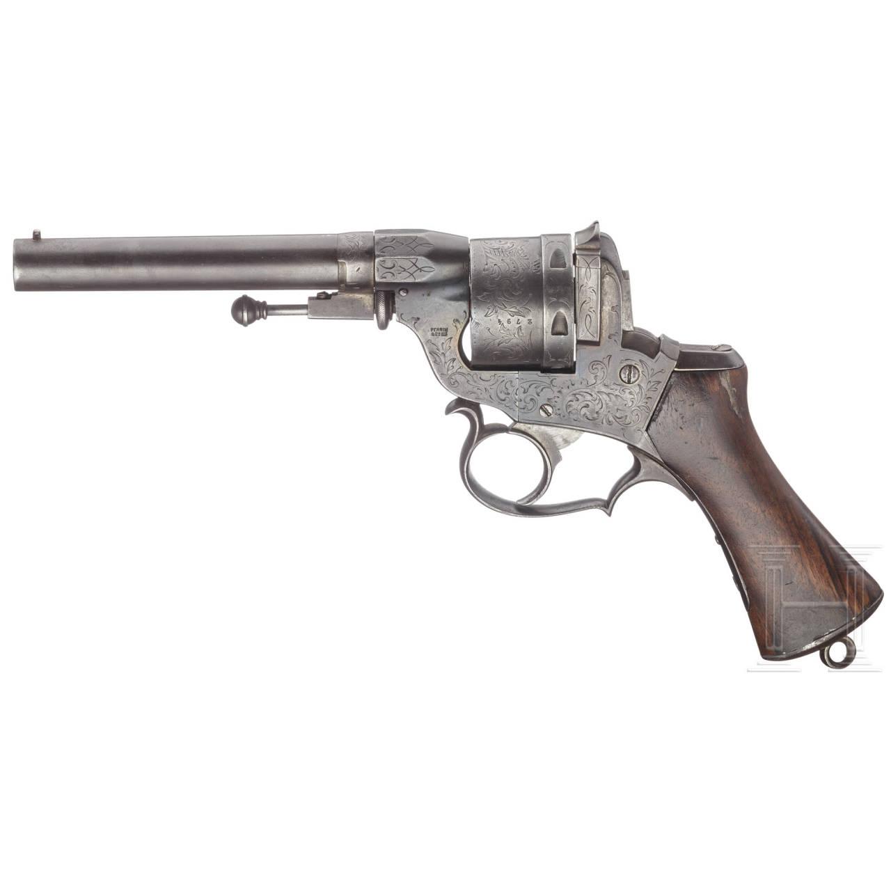 A Perrin model 1859 revolver, 2nd version