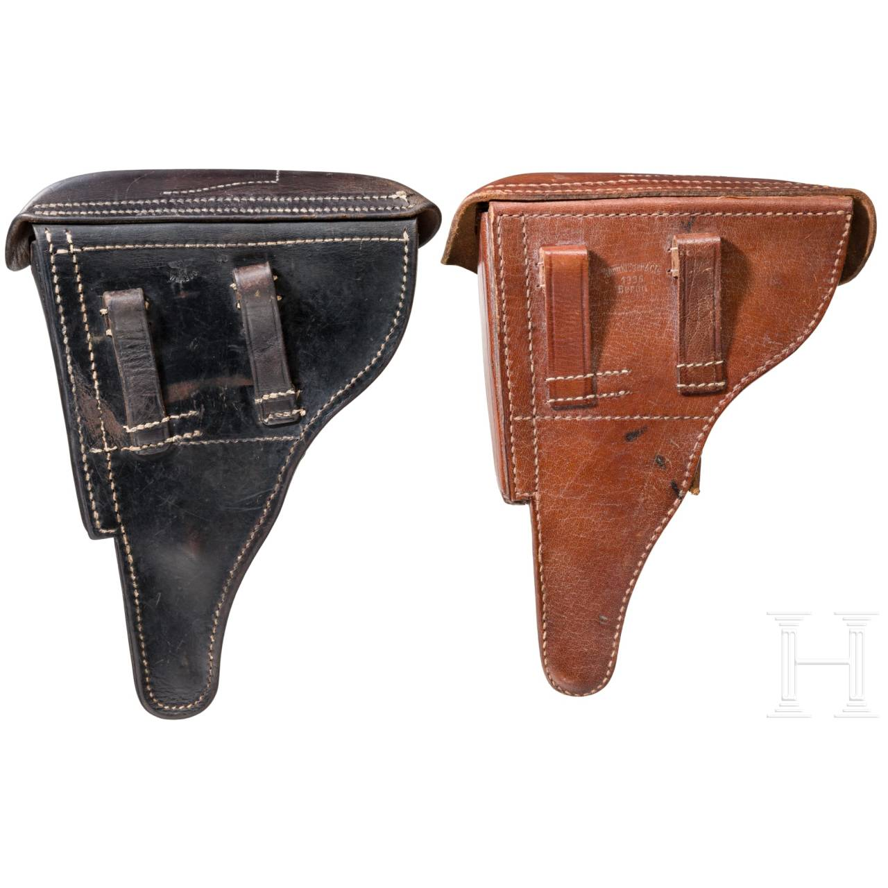 Wehrmacht holster for P 08 and replica