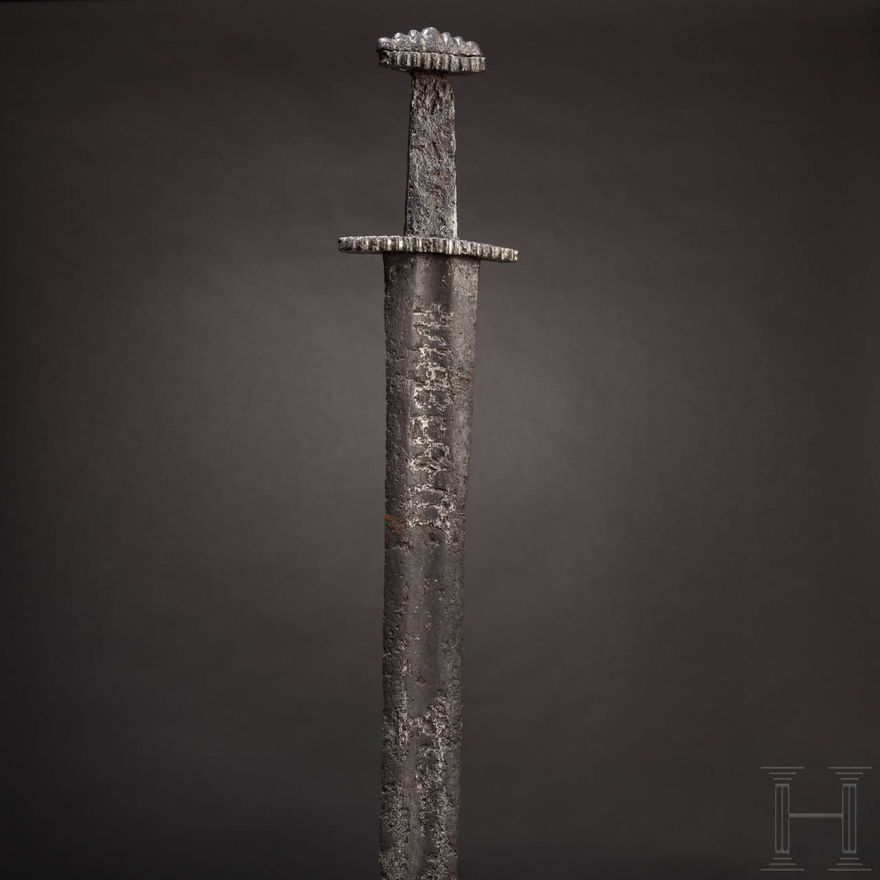 A fine Northern European Viking sword with an Ulfberht blade, 10th century