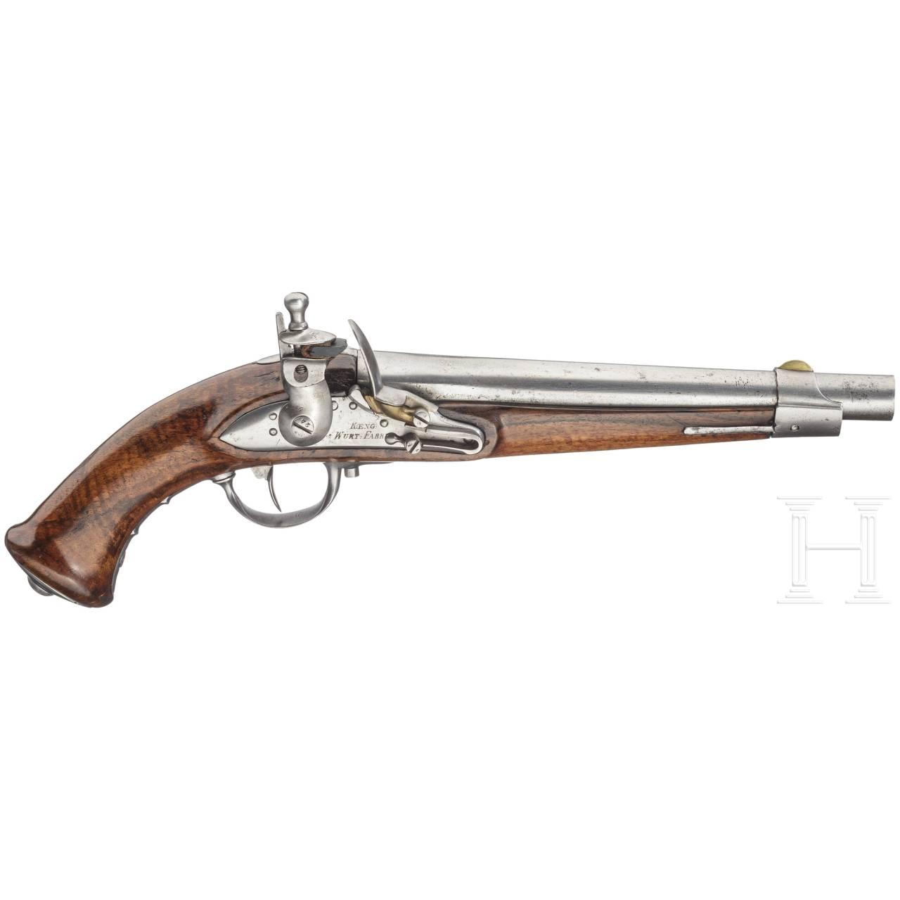 A model 1817 cavalry pistol