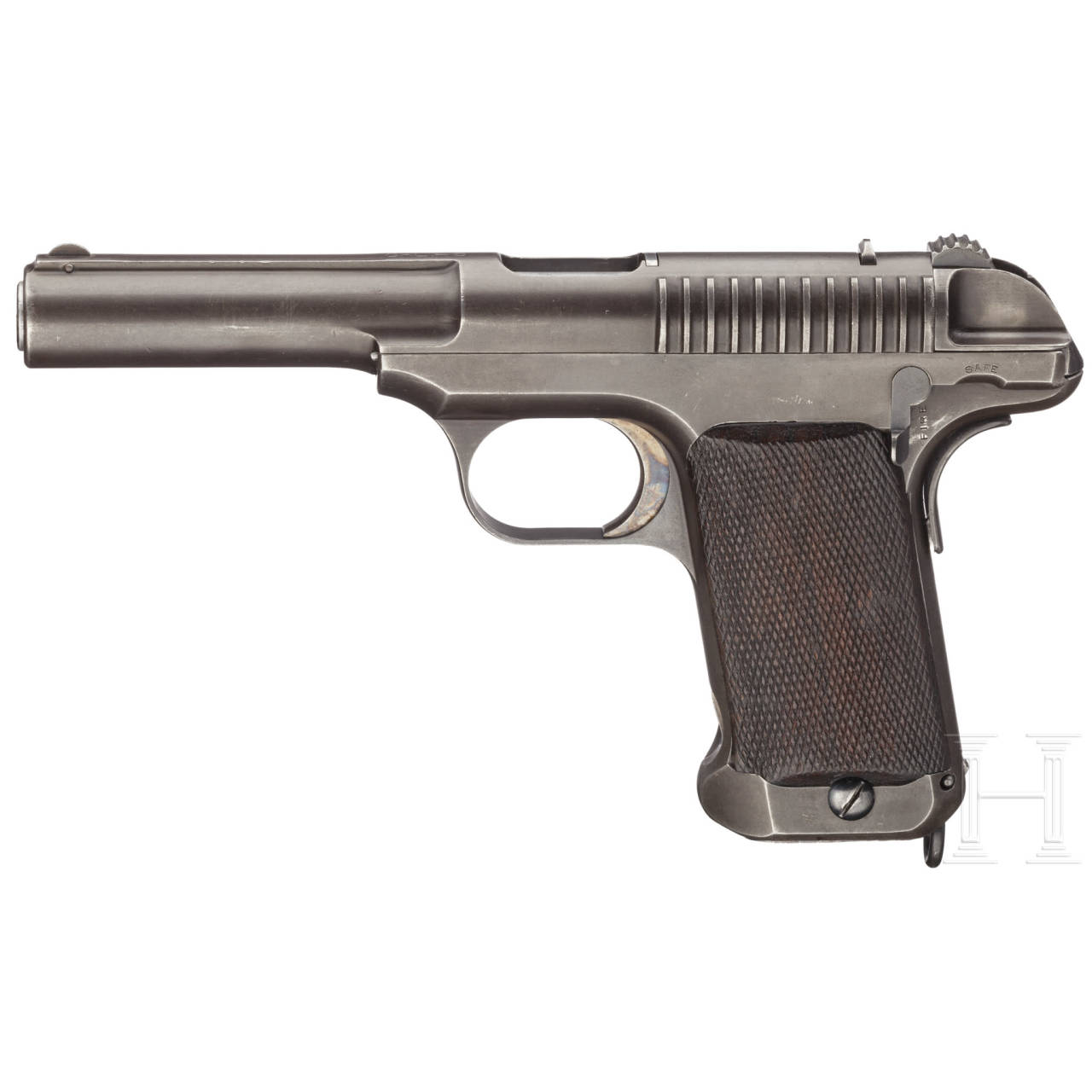 A Savage Mod. 1907 Military Contract trial pistol