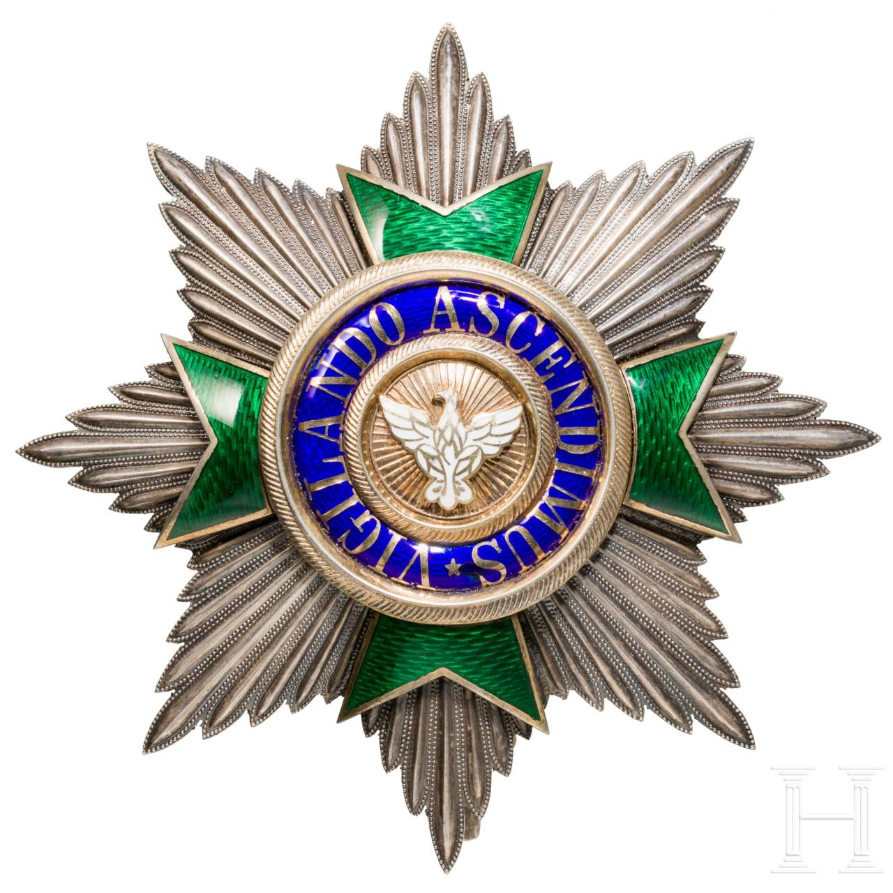A breast star for the Grand Cross of the House Order of the White Falcon