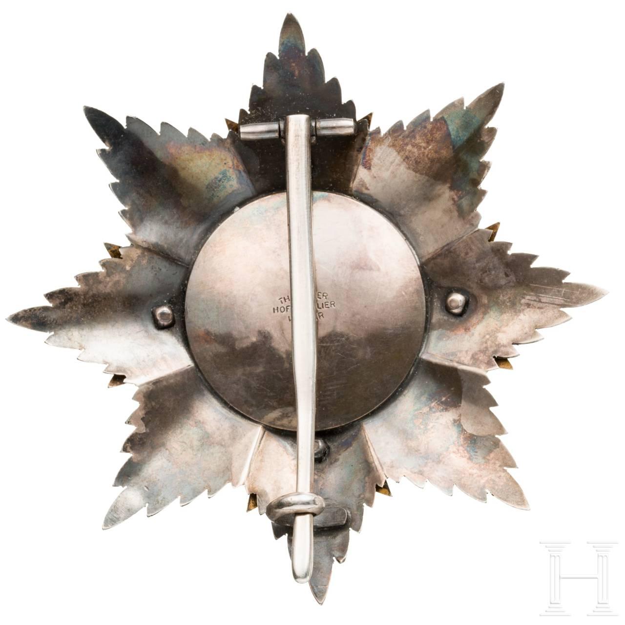 Bruststern zum Großkreuz des Hausordens vom Weißen Falken