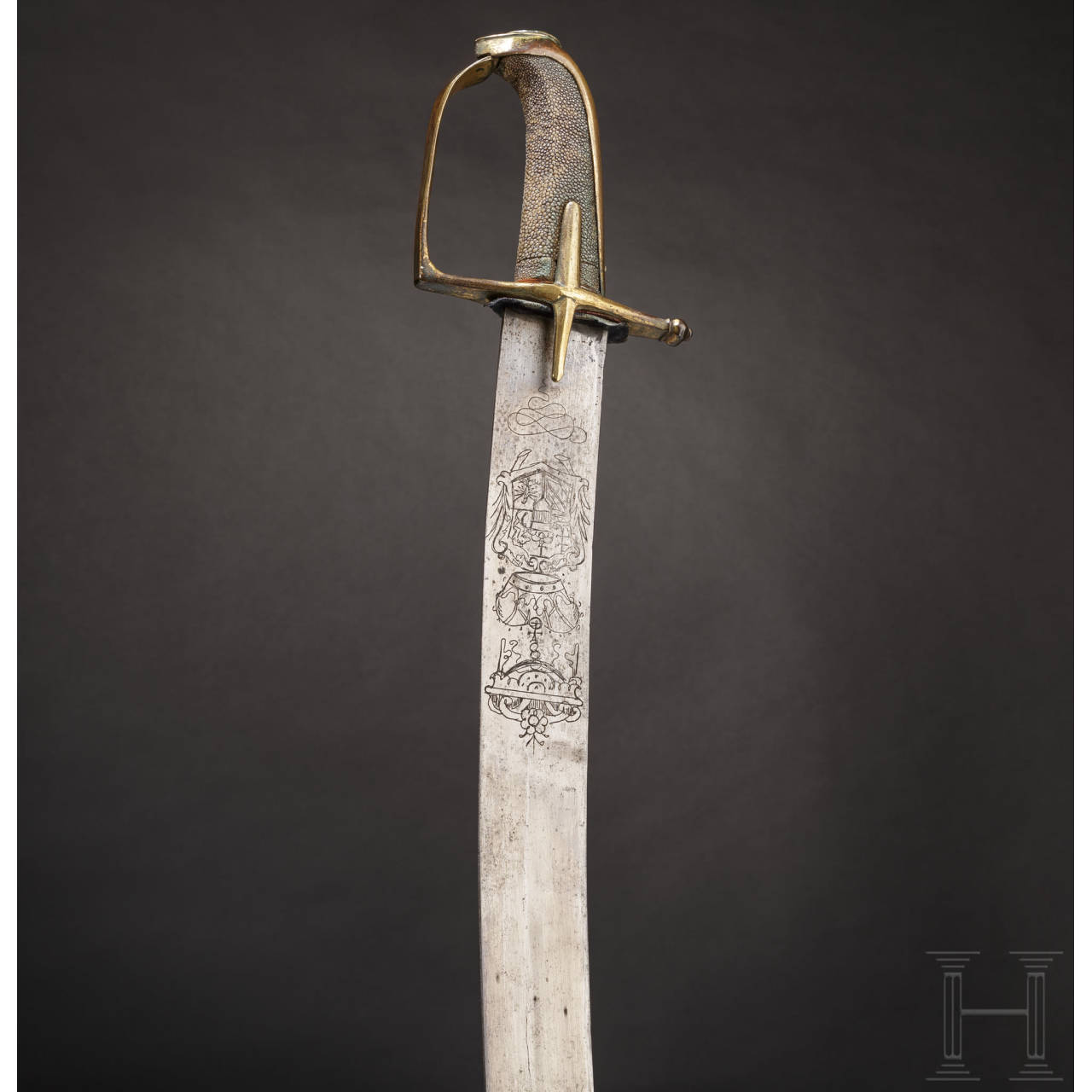 A sabre for hussar officers from the reign of Maria Theresia, circa 1740/50