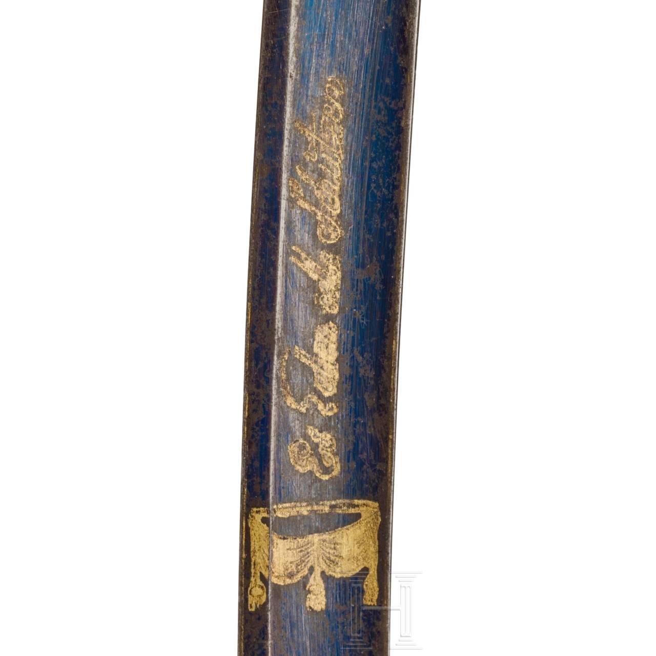 Schießpreissäbel der Stadt Frankfurt, um 1820