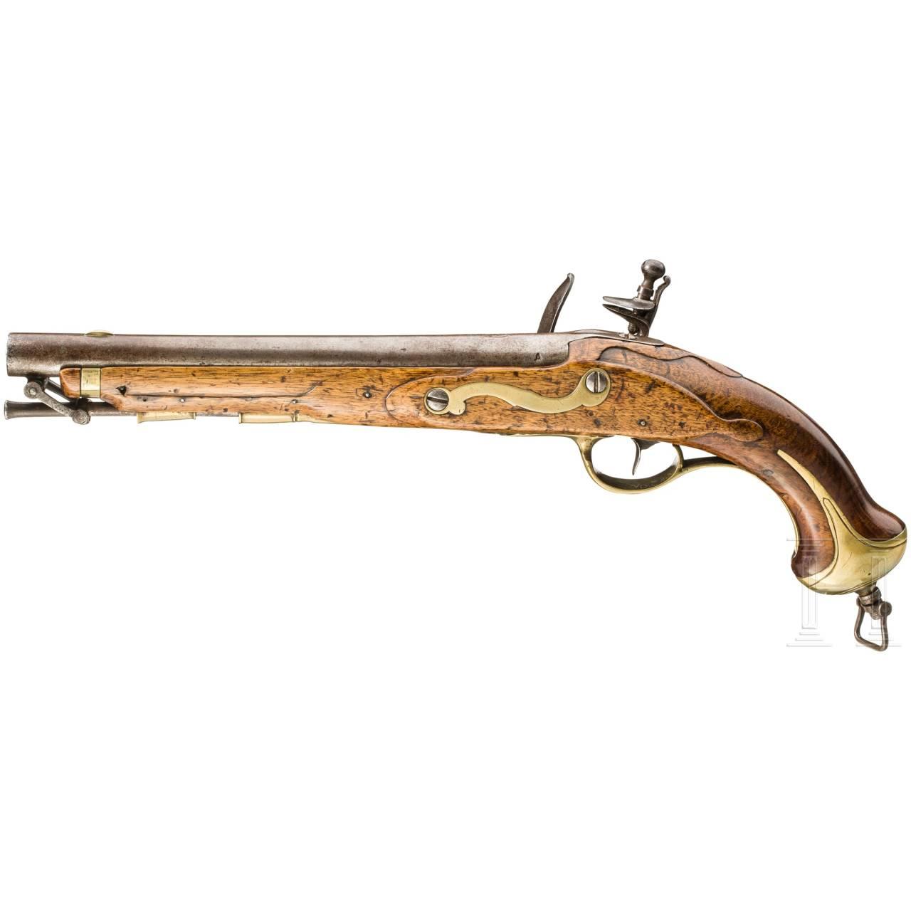 Steinschloss-Kavalleriepistole M 1789, Fertigung Anschütz in Suhl