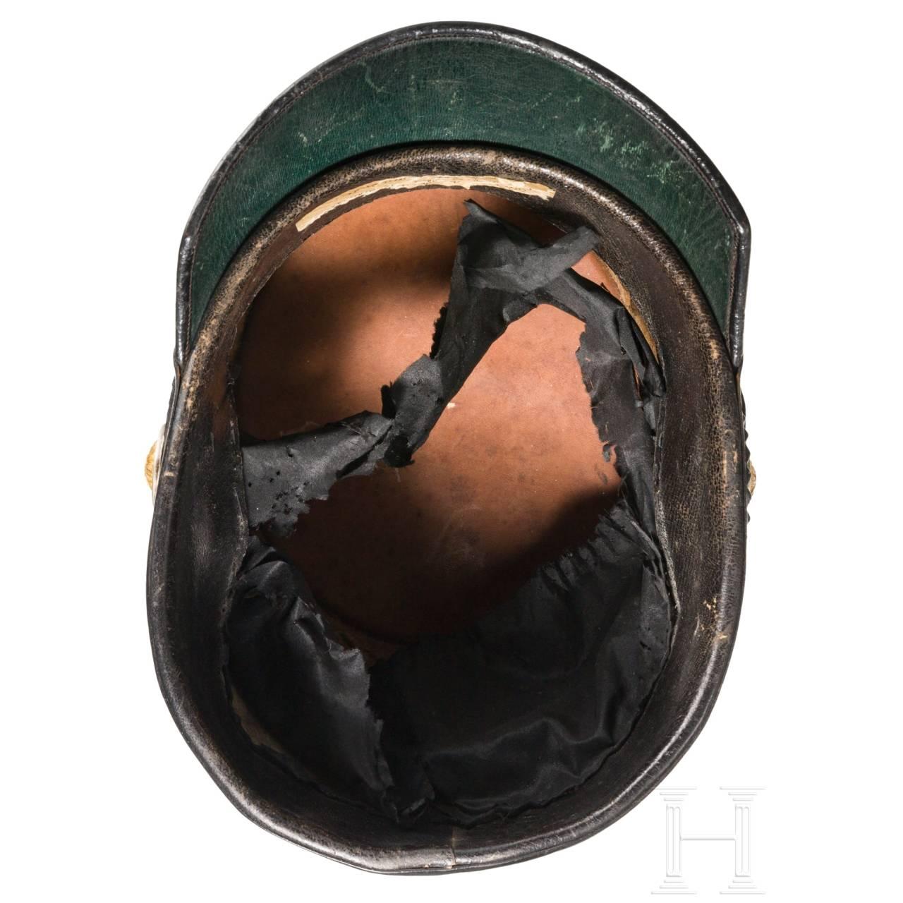 Tschako für Offiziere der Reichsgendarmerie, um 1900