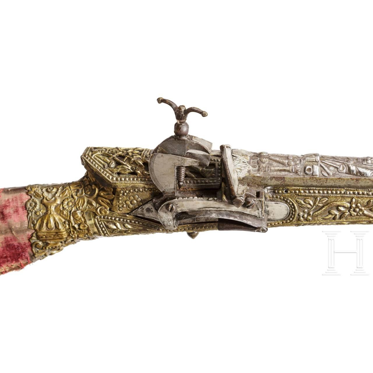 Langes Tüfek, osmanisch, 18. Jhdt.