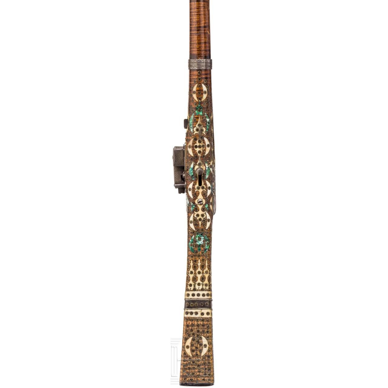 Kleine Miqueletbüchse (Tüfek), osmanisch, 18. Jhdt.